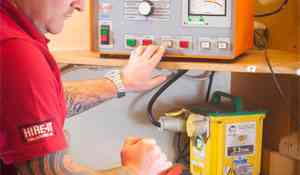 Travis Perkins plugs in to Clare for reliable electrical safety testing