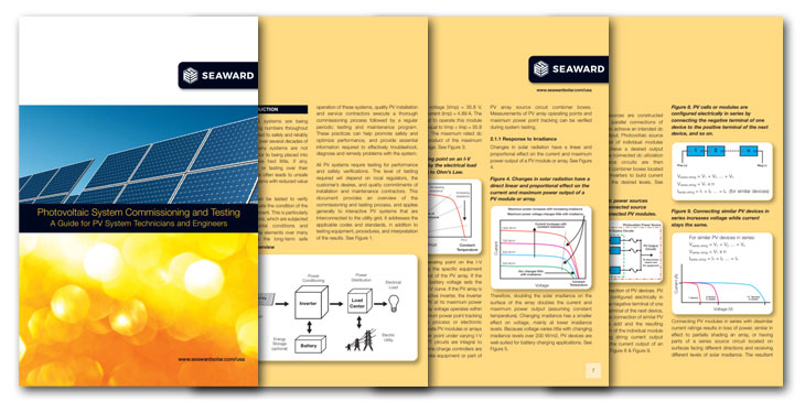 Free Guide To Solar Pv Commissioning And Testing Seaward